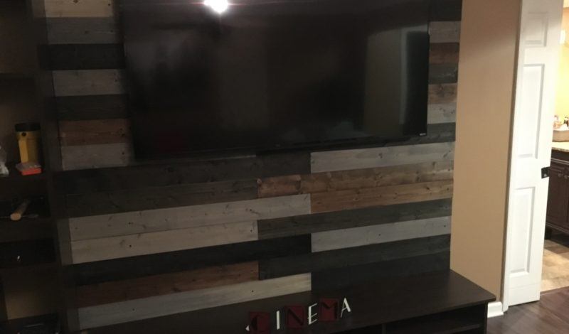 DIY Project – Wood Pallet Accent Wall