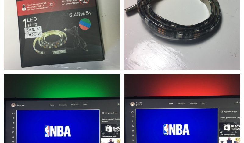 Product Review: USB LED Strip Lights